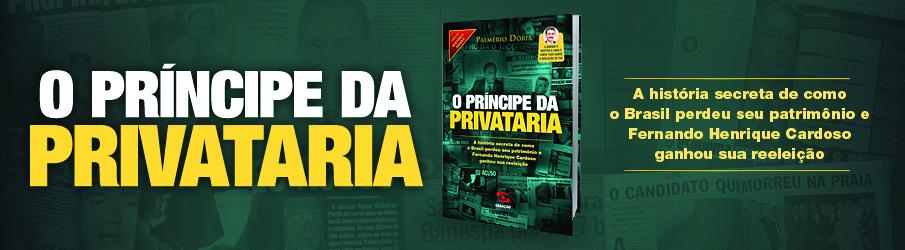 Banner Principe da Privataria