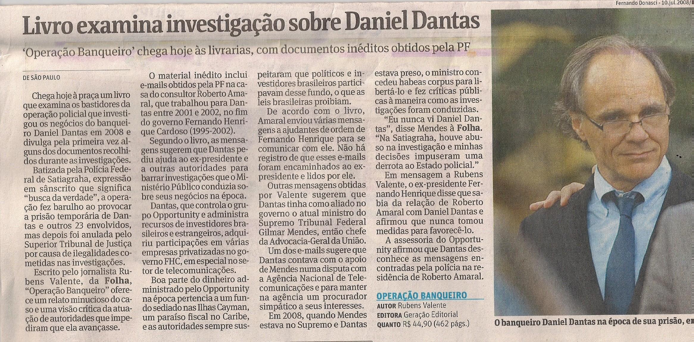 Folha de SP - 10 de Janeiro